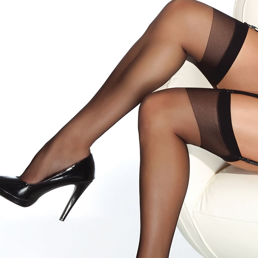 Coquette Coquette Thigh High Sheer Stocking, O/S