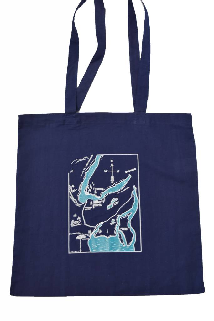 Hood Canal Map Tote