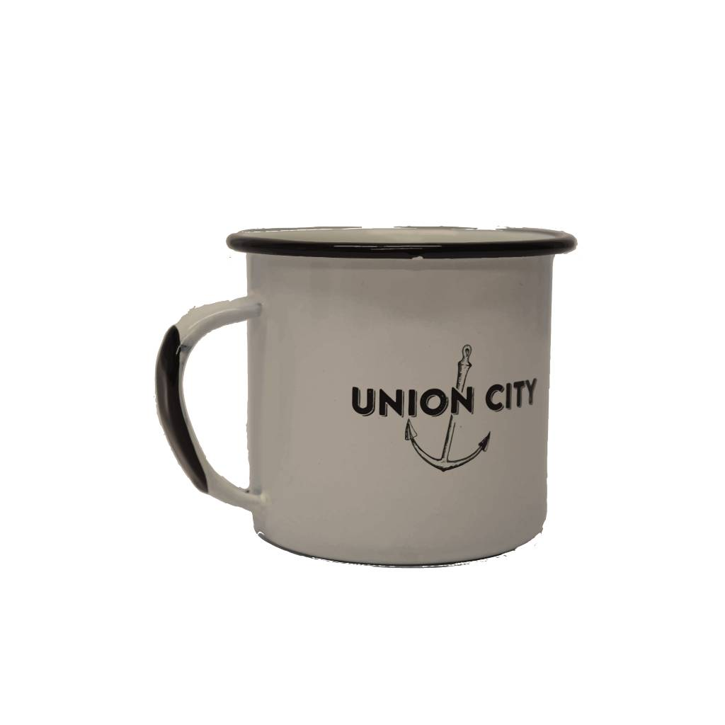 Union City Market Enamelware Mug