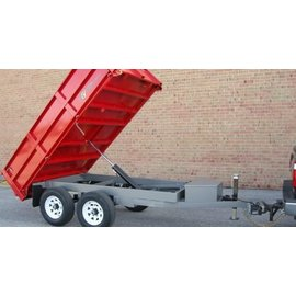BWise Trailers DD10/12 SERIES - DECK OVER DUMP TRAILERS DD10-10