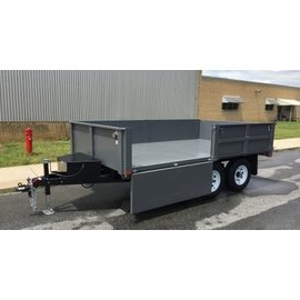 BWise Trailers DD10/12 Series/Deck Over Dump Trailer/DD12W-10
