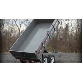BWise Trailers DDHD12/14/16 Series/Deck Over Dump Trailer/DDHD12-15