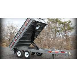 BWise Trailers DDHD12/14/16 Series/Deck Over Dump Trailer/DDHD16-15