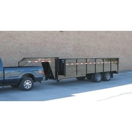 BWise Trailers DDHD16/18/20 Series/23K Deck Over Dump Trailer/DDHD18-23