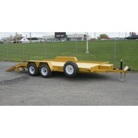 BWise Trailers EA Series/Angle Frame Equipment Hauler/EA20-15