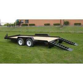 BWise Trailers EA Series/Angle Frame Equipment Hauler/EA20-10