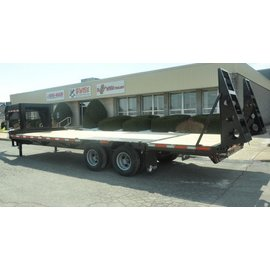 BWise Trailers EDB Heavy Duty Deck Over Series/Equipment Hauler/EDB28-23