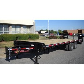 BWise Trailers EDB Heavy Duty Deck Over Series/Equipment Hauler/EDB25-23