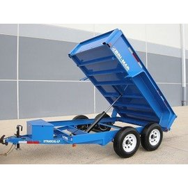 Bri-Mar Trailers R SERIES - DUMP TRAILERS DTR610LP-10