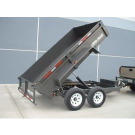 Bri-Mar Trailers LP 6' / 7' WIDE SERIES - DUMP TRAILERS DT610LP-10