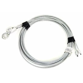 "RUD Cables 130"" for Enclosed Trailer Ramp Spring"