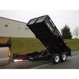 Bri-Mar Trailers LP 6' / 7' WIDE SERIES - DUMP TRAILERS DT612LP-10