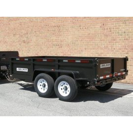 Bri-Mar Trailers LP 6' / 7' WIDE SERIES - DUMP TRAILERS DT612LP-12