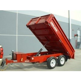 Bri-Mar Trailers DP SERIES - DUMP TRAILERS DT610-10-DP