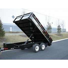 Bri-Mar Trailers DP SERIES - DUMP TRAILERS DT712-10-DP