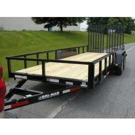 Bri-Mar Trailers EHLE SERIES - EQUIPMENT HAULERS EH18-10LE-HDLS