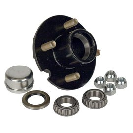 "Dexter Axle 1-1/16"" Bearing, 4 on 4"" Stud Wheel Hub Kit 08-91-90"