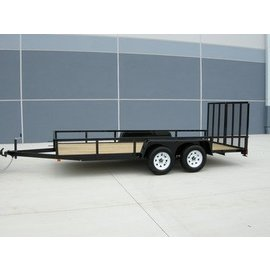 Bri-Mar Trailers UT SERIES - LANDSCAPE TRAILERS UT-718