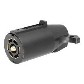 Curt Manufacturing LLC CURT 7-Way RV Blade Connector Plug #58140