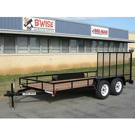 Bri-Mar Trailers UTE SERIES - LANDSCAPE TRAILERS UTE-614