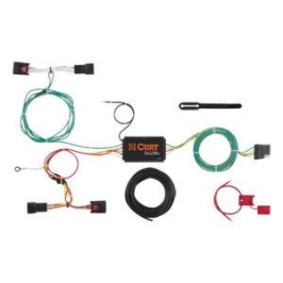 custom wiring harness 56297 curt truck and trailer world Godge Ram Truck Wiring Harness 1995 at Custom Truck Wiring Harness