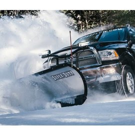 "Boss BOSS 9'0"" Trip Edge Super Duty Stainless Plow"