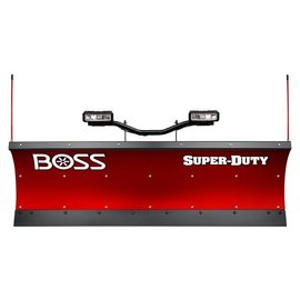 "Boss BOSS 8'0"" Poly Super Duty Straight Plow w/ D-Force"