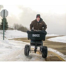 Boss BOSS Walk-Behind Broadcast Spreader, 100 LB