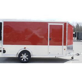 EZ Hauler E-Z Hauler Aluminum/Enclosed Cargo 5/6-Wide Series/EZEC6x12TA-IF
