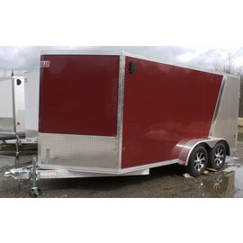 EZ Hauler E-Z Hauler Aluminum/Enclosed Cargo 7 Wide Series/EZEC7x14-IF