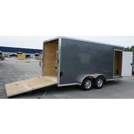 EZ Hauler E-Z Hauler Aluminum/Enclosed Cargo 7 Wide Series/EZEC7x16-IF