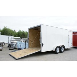 EZ Hauler E-Z Hauler Aluminum/Enclosed Cargo 8 Wide Series/EZEC8x18-IF