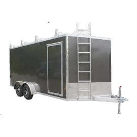 EZ Hauler E-Z Hauler Aluminum/ Ultimate Contractor Package/EZEC 7x14 UCP-IF