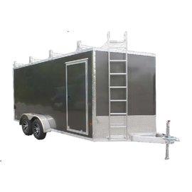 EZ Hauler E-Z Hauler Aluminum/Ultimate Contractor Package/EZEC 8x14 UCP-IF