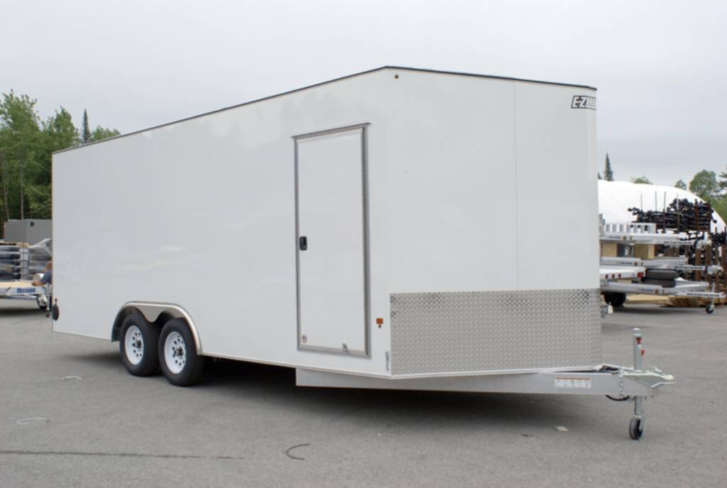 E Z Hauler Enclosed Car Hauler Trailer Ezec8x20ch If