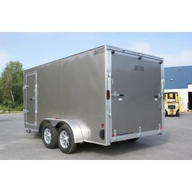 EZ Hauler E-Z Hauler Aluminum/Enclosed Snow Hauler/EZES 7x14 -IF