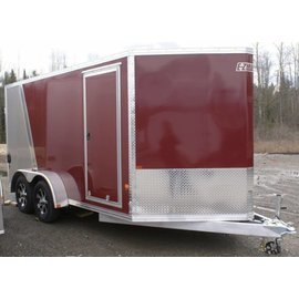 EZ Hauler E-Z Hauler Aluminum/Enclosed Cargo 7 Wide Series/EZEC7x12TA-IF