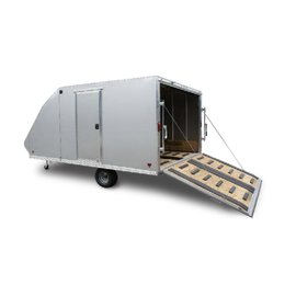 Mission Mission|ENCLOSED SNOW TRAILER|MFS101x20CROSSOVER