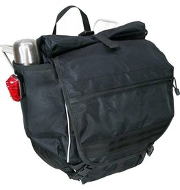 Banjo Brothers Waterproof Backpack Pannier Black