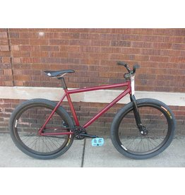 All-City Demo All-City Airwolf Frame MD Red