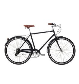 Pure City The Bourbon - 8 spd - 58cm Black
