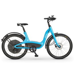 Elby Elby Electric Bike Blue 9s 26inch