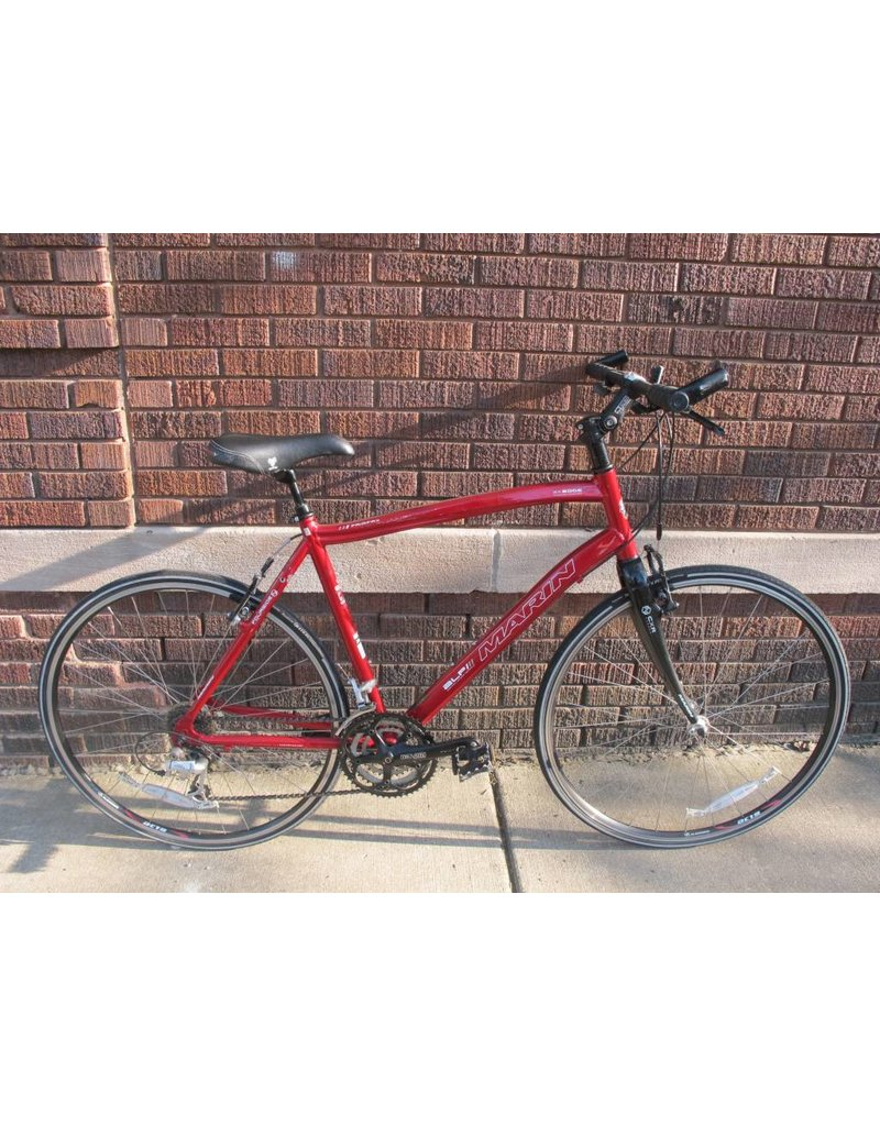 "Used Marin Fairfax Hybrid/Road 20.5"" red"