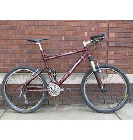 Used Salsa El Santo Full Suspension MTB - 22""
