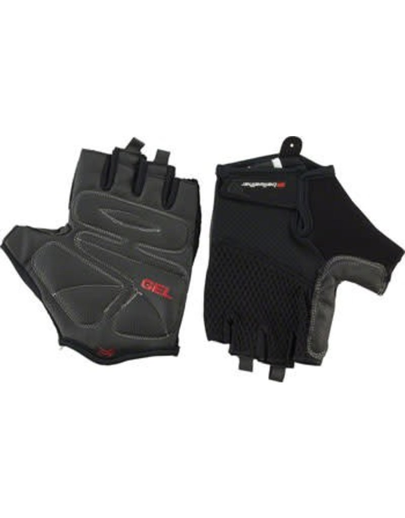 Bellwether Bellwether Gel Supreme Men's Short Finger Glove: Black LG