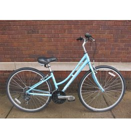 "Used Raleigh Detour 3.5 Hybrid 16"" Light Blue"