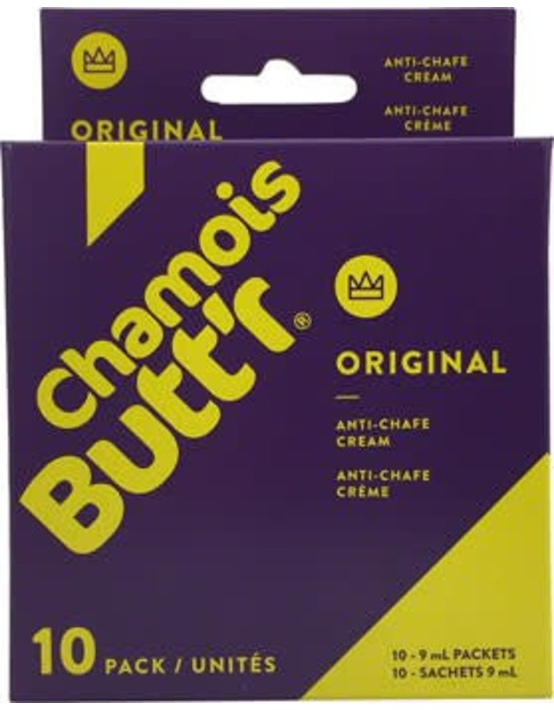 Chamois Butt'r Chamois Butt'r Original: 0.3oz Packet, Box of 10