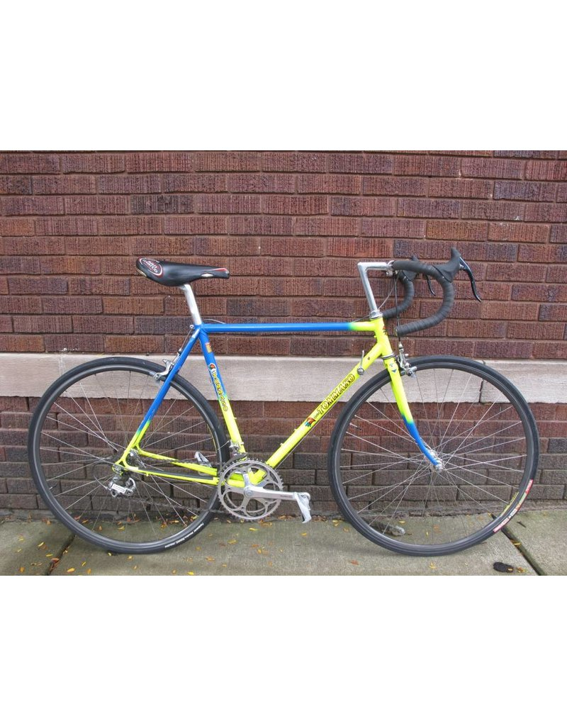 Used Tommaso Vintage Road Bike 53cm yellow