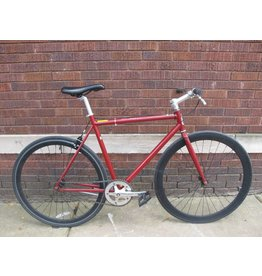 felt Used Felt Single Speed Maroon 54cm
