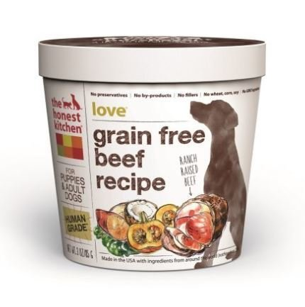 The Honest Kitchen Love; Beef Recipe. Dehydrated Grain Free Dog Food.  Single Serve Cup   Beverly Hills   Los Angeles   Pet Supplies Store.